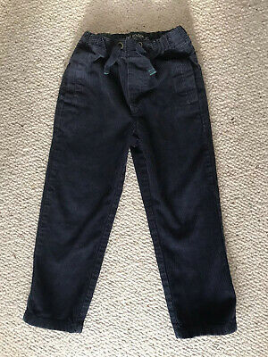 Mini BODEN Boys Cord Trousers Age 4 Years - Great Condition