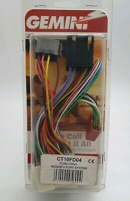 Ct10Fd04 Ford Wiring Harness Iso Adaptor