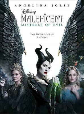 Maleficent: Mistress of Evil (DVD 2019 2020) NEW Factory Sealed