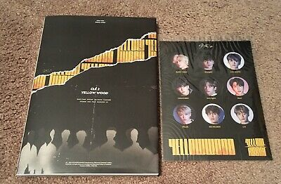 Stray Kids Clé 2 Yellow Wood Limited Edition Woojin Page NO PHOTOCARD US Seller