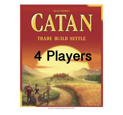 New Settlers of Catan Board Game 5th Edition Party Home Games Gift 4 Players