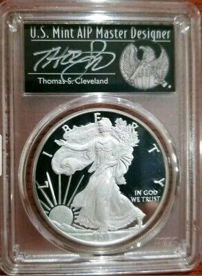 2018-W Proof American Silver Eagle PCGS PR-70 Deep Cameo First Strike