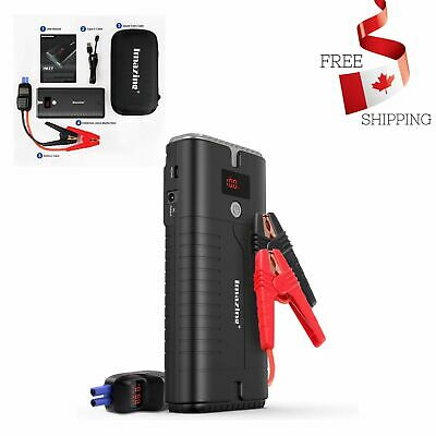 Portable Car Jump Starter Auto Battery Booster - 2000A 18000mAH