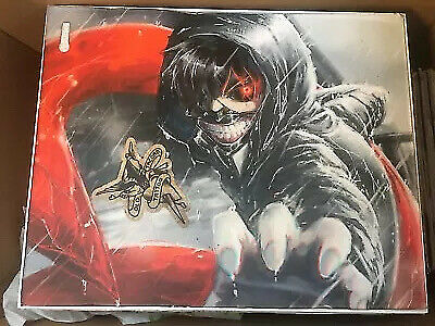 MICROSOFT XBOX ONE X 1TB WHITE CONSOLE MODEL 1787 SYSTEM ONLY Tokyo Ghoul Skin