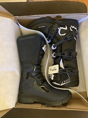 3 Fox Racing 2018 Youth Comp 3 Boots BLACK
