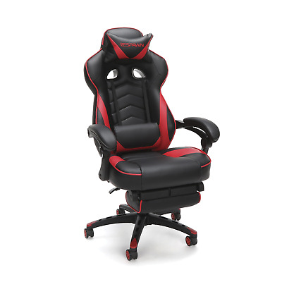 RESPAWN 110 Racing Style Gaming Chair, Reclining Ergonomic Leather Chair with in
