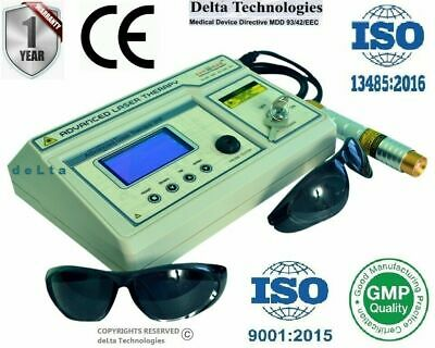 Physiotherapy Laser Cold Laser Advanced Software LCD computerised Therapy Unit