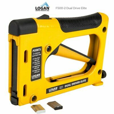 Logan F500-2 Dual Drive Elite Point Driver with Free Points