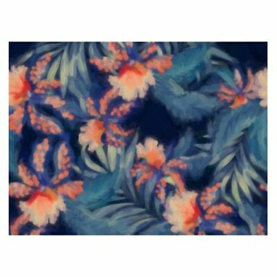 NEW A La Mode Studio Glowing Hibiscus Canvas Print