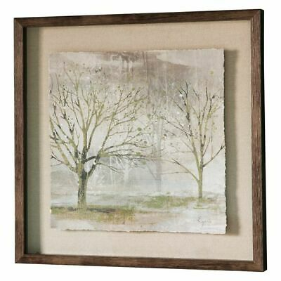 NEW Castle Road Interiors Trees of Gold II Framed Print