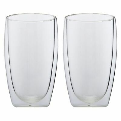 NEW Maxwell & Williams Blend Double Wall Cup (Set of 2)