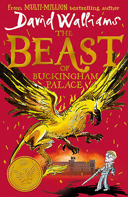 The Beast of Buckingham Palace The epic..by David Walliams-Hardcover-NEW-2019