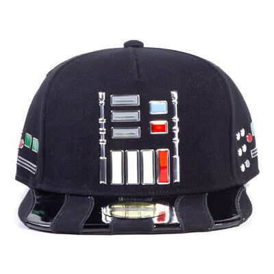 Star Wars A New Hope Darth Vader Suit Buttons Snapback Baseball Cap Unisex
