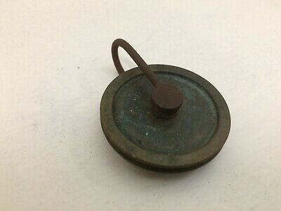 ANTIQUE BRASS LONGCASE / GRANDFATHER GUT PULLEY - 42mm