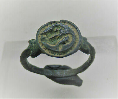 Detector Finds Ancient Celtic Bronze Finger Ring With Horse Motif