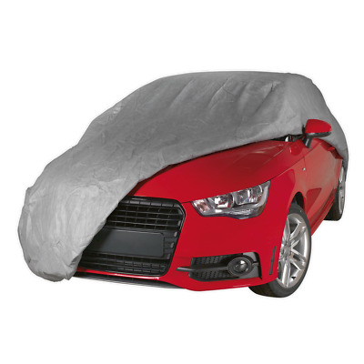 SCCM Sealey All Seasons Car Cover 3-Layer - Medium [Vehicle Covers]