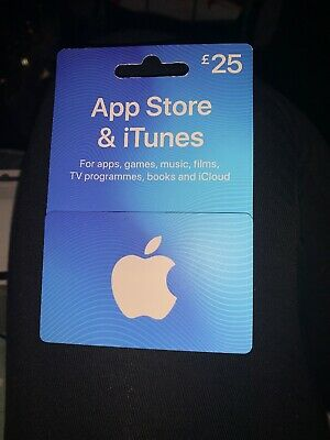 Apple iTunes £25 Voucher - PLEASE NOTE I WILL NOT GIVE CODE OUT - POSTAGE ONLY