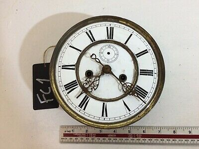 VINTAGE LONGCASE CLOCK MOVEMENT - 7inch DIAL - USED - FOR RESTORATION