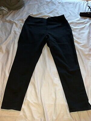Womens Next Black Pull On Jeggings 16L