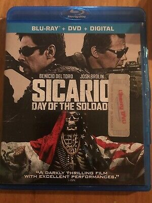 sicario day of the soldado blu ray Only