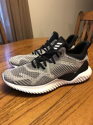 Adidas Men's Alphabounce Running Shoe With Continental Tread