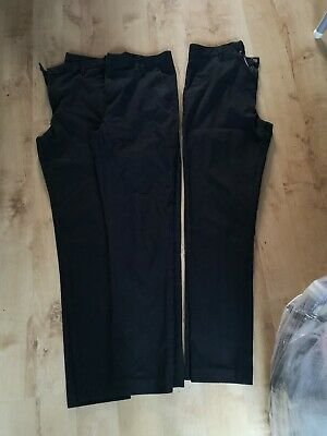 3 Pairs Of Boy's Jean Style School Trousers Size 13 From Next