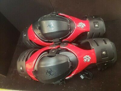 Asterisk Cell Knee Braces Red size L Left and Right USED