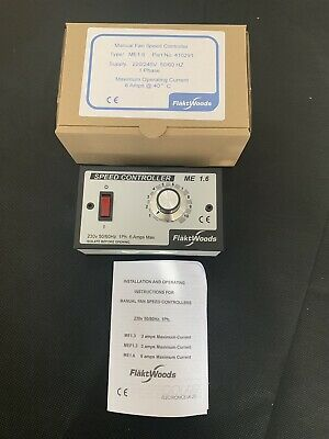Genuine Flakt Woods ME1.6 speed controller