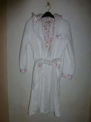 M & S Autograph Girls Hooded Dressing Gown (New Without Tag)