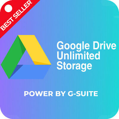 Google Drive ACC Unlimited Storage Premium Lifetime Support with Warranty