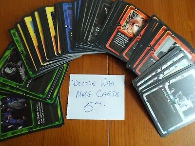 doctor who 5TH MMG  trading cards  lot bundle 115 all different
