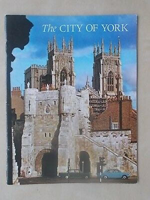 The City Of York - Vintage 1971 Pitkin Pictorial Tourist Visitors Guide