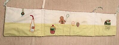 Mamas And Papas Gingerbread Cot Bumper