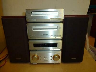 Technics Hd350 Component Stereo System-Superb Quality