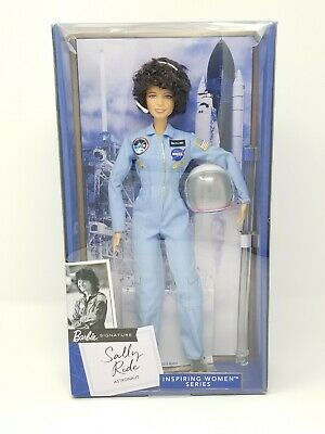 *New* Sally Ride Barbie Inspiring Women Series American Astronaut Collector Doll