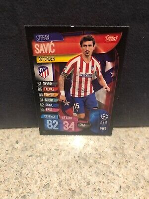 Topps Match Attax Eufa 2019/20~147 Stefan Savic~Athletico Madrid~Mint
