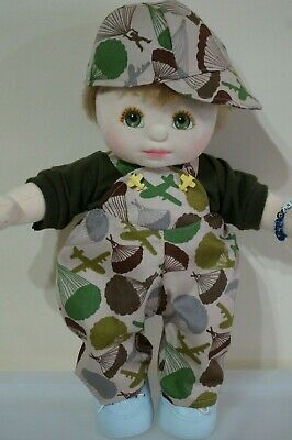 My Child Doll Aerial Outfit - Overalls - T Shirt - Cap  (No Doll)