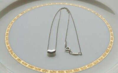 Authentic Tiffany & Co. ELSA PERETTI Sterling Silver Bean Necklace 925 | Spain