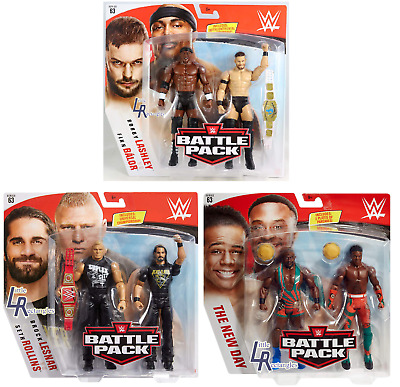WWE Figures - Battle Pack Series 63 - Mattel - New - Sealed - SHIPPING COMBINES