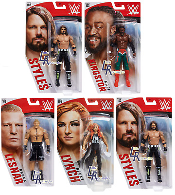 WWE Figures - Basic Series 103 - Mattel - Brand New - Sealed - SHIPPING COMBINES