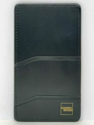 American Express Double Pocket Check Presenter/Restaurant Bill/Server in Black