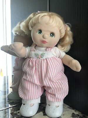 MY CHILD DOLL Vintage 1985 Blonde Green Eyes - Excellent Condition
