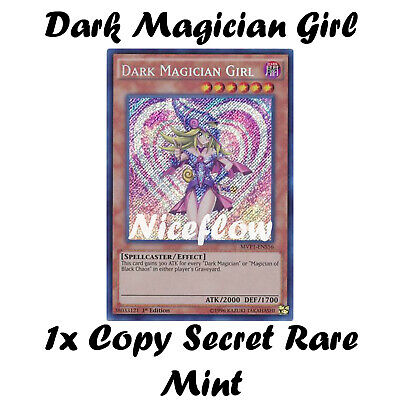 YUGIOH - Dark Magician Girl - MVP1-ENS56 - Secret Rare-1st Edition - NM/M