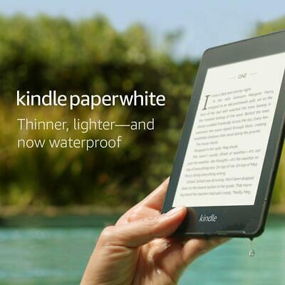 NEW Kindle Paperwhite 10th Gen 2018 Release 8GB with Special Offers, Black