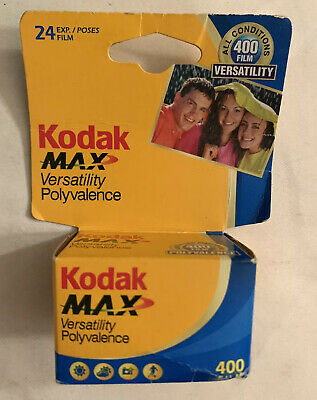 Kodak 135-24 Max Versatility ISO 400 Color Print 35mm 02/2009 Exp SEALED