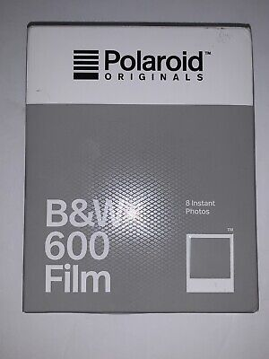 EXPIRED - Polaroid Originals B&W Black & White 600 OneStep 660 636 Instant Film