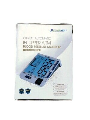 Automatic Digital Arm Blood Pressure Monitor Small or Large BP Cuff Gauge Meter