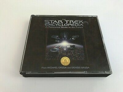 The Star Trek Encyclopedia 4 Cd Set A Reference Guide To The Future Vintage 1997