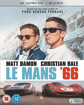 Le Mans '66 (aka Ford vs. Ferrari) [2019] (4K Ultra HD + Blu-ray) Matt Damon