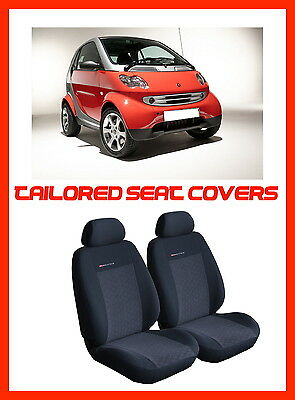 Fully tailored seat covers for Smart  ForTwo 1998 - 2007  (P1)